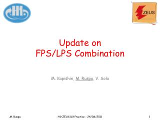 Update on FPS/LPS Combination