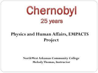 Chernobyl 25 years