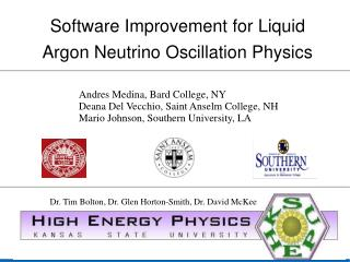 Software Improvement for Liquid Argon Neutrino Oscillation Physics