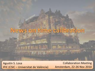 News  on  time  calibration