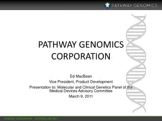 Pathway Genomics Corporation