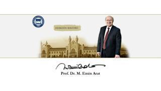 Prof. Dr. M. Emin Arat