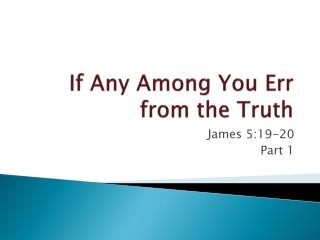 The Sermon on the Plain part 2