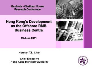 Bauhinia - Chatham House Research Conference