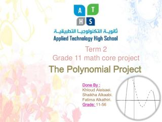 The Polynomial Project