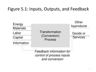 Figure 5.1: Inputs, Outputs, and Feedback