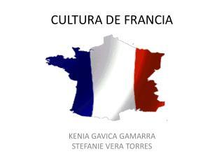 CULTURA DE FRANCIA