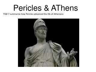 Pericles  &  AThens