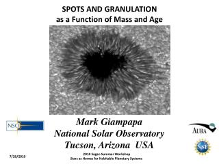 SPOTS AND GRANULATION as a Function of Mass and Age