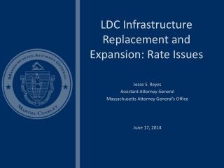 LDC Infrastructure Replacement and Expansion: Rate Issues