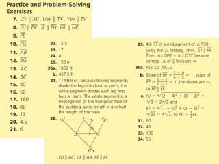 Perpendicular  Bisectors, Angle Bisectors, Medians, & Altitudes
