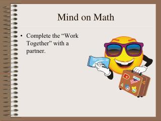 Mind on Math