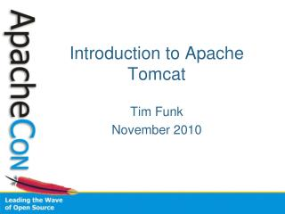 Introduction to Apache Tomcat
