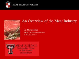 An Overview of the Meat Industry