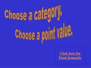 Choose a category.