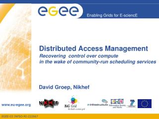 Distributed Access Management