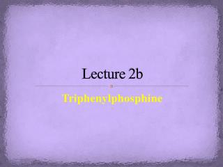 Lecture  2b