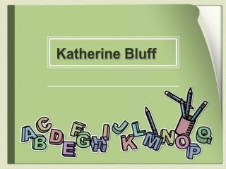 Katherine Bluff