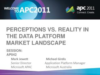Perceptions vs. reality in the data platform market landscape