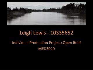 Leigh Lewis - 10335652