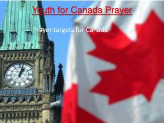 Youth for Canada Prayer