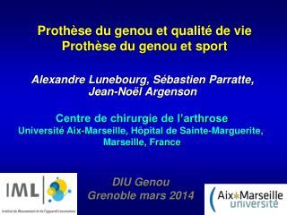 Prothèse du genou et qualité de vie  Prothèse du genou et sport