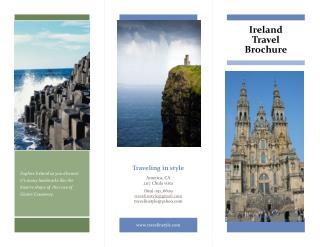 Ireland Travel Brochure
