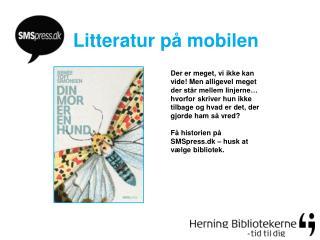 Litteratur på mobilen