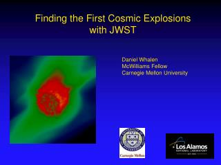 Finding the First Cosmic Explosions with JWST