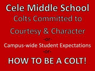 Cele  Middle School