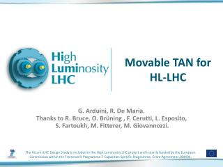 Movable TAN for HL-LHC