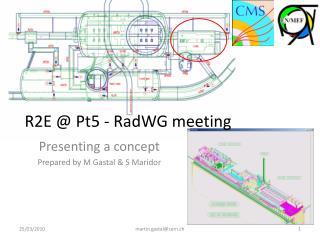 R2E @  Pt5 -  RadWG  meeting