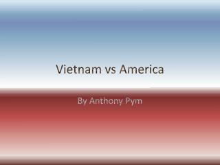 Vietnam vs America