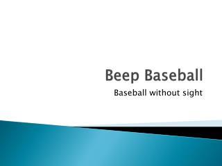 Beep Baseball