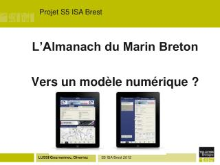 Projet S5 ISA Brest