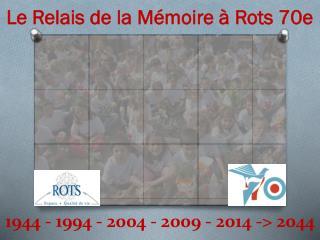 1944 - 1994 - 2004 - 2009 - 2014 -> 2044