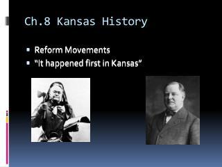 Ch.8 Kansas History
