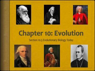Chapter 10: Evolution