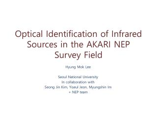 Optical Identification of Infrared Sources in the AKARI NEP Survey Field