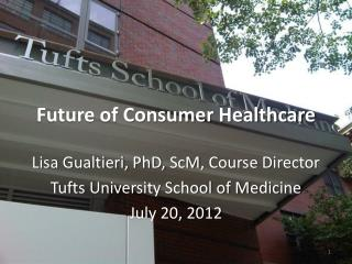 Future of Consumer Healthcare