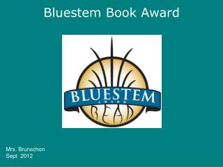 Bluestem Book Award