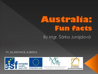 Australia: Fun facts