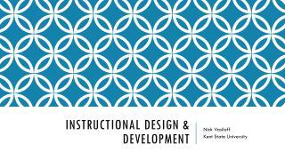 Instructional design & development