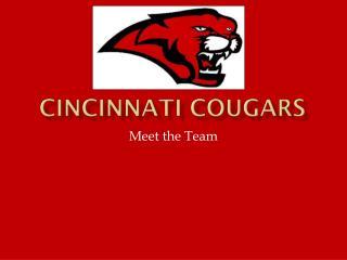 Cincinnati Cougars