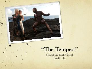 �The Tempest�