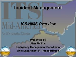 Incident Management   ICS