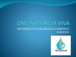 ONG NATUREZA VIVA