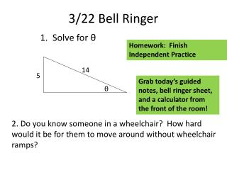 3/22 Bell Ringer