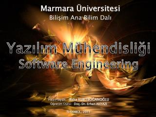 Marmara �niversitesi Bili?im Ana Bilim Dal?