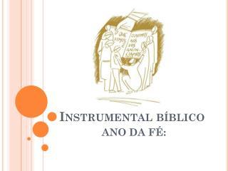 Instrumental bíblico